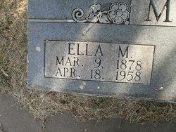 Ella Matilda <i>Williams</i> Marr