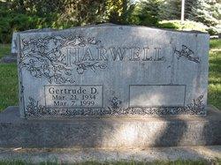 Gertrude <i>Dewey</i> Harwell