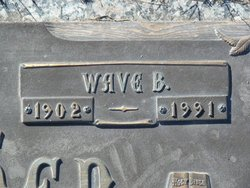 Mrs Wave B. <i>Bruce</i> Warner
