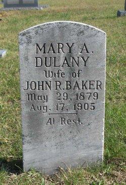 Mary A. <i>Dulany</i> Baker