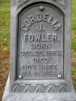 Cordelia J Fowler