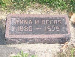 Anna H <i>Haddick</i> Beers