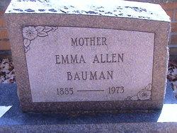 Emma <i>Balmer</i> Allen-Bauman