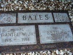 Daniel W. Bates, Jr