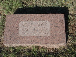Alice <i>Malaer</i> Boyd