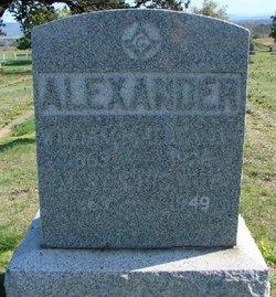 Mary Sophronia <i>McElmurray</i> Alexander