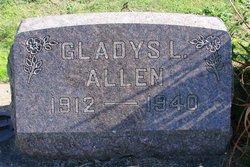 Gladys L Allen