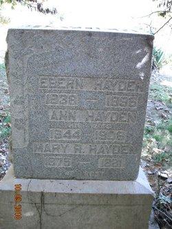 Ann <i>Howard</i> Hayden