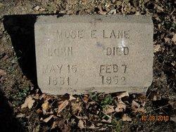 Mose E. Lane