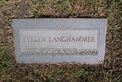 Evelyn <i>Selby</i> Langhammer
