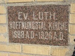 Hoffnungstal Lutheran Cemetery