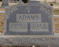 Lula K. <i>Wade</i> Adams