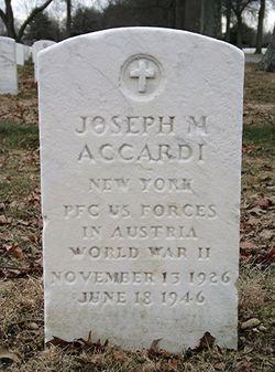 PFC Joseph M. Accardi