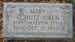 Mary <i>Schutz</i> Aiken