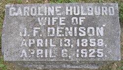 Caroline A <i>Hulburd</i> Denison