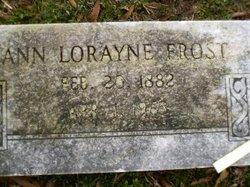 Ann Lorayne <i>Stribling</i> Frost