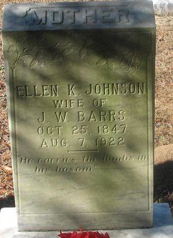 Ellen K. <i>Johnson</i> Barrs