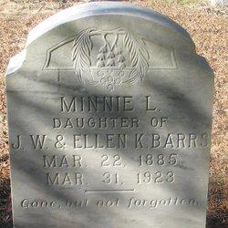 Minnie L. Barrs
