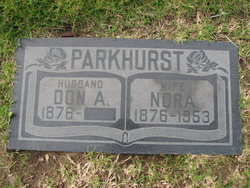Donald Ambert Don Parkhurst