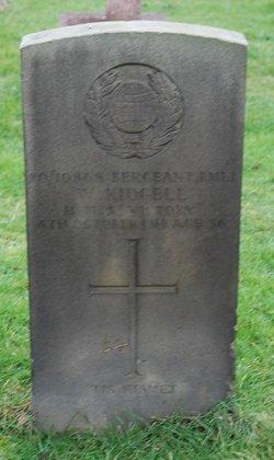 Sgt W Kidgell