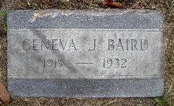 Geneva Jeannetta Baird
