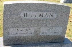 Addie <i>Blount</i> Billman