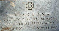 Ferdinand Dunlap
