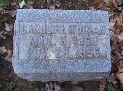Caroline <i>Weber</i> Widman