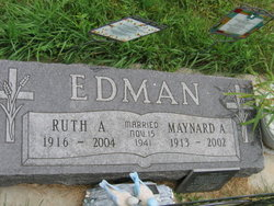 Ruth Anna <i>Olson</i> Edman