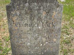 Jeremiah York