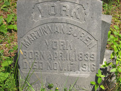 Martin Van Buren York