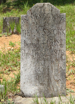 Rev William Seymore York