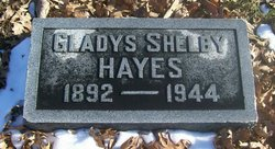 Gladys <i>Shelby</i> Hayes