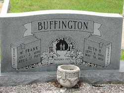 Ruth <i>Buffington</i> Buffington