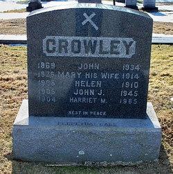 Mary J. <i>McCarthy</i> Crowley