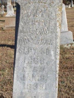 Mary Emaline <i>Holder</i> Crittenden