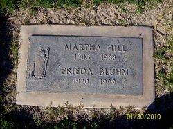 Frieda <i>Hill</i> Bluhm