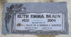 Ruth Emma <i>Braun</i> Freeman