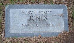 Ruby <i>Thomas</i> Jones