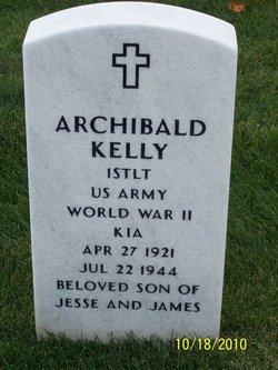 Lieut Archibald Kelly