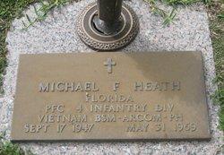 PFC Michael Frederick Heath
