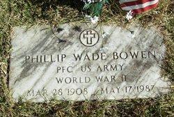 Phillip Wade Bowen