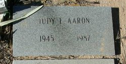 Judy E Aaron