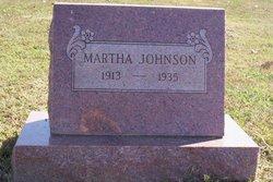 Martha Jane <i>Berg</i> Johnson