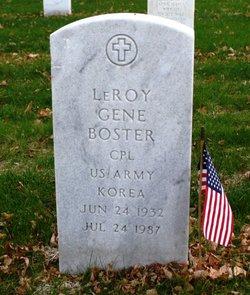 Leroy Gene Boster