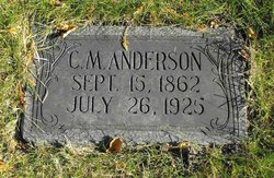 Charles M Anderson