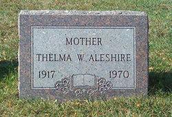 Thelma W. <i>Williams</i> Aleshire