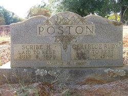 Gertrude A. <i>Rudy</i> Poston