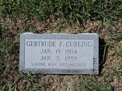 Gertrude Anne Lee <i>Farrell</i> Curling