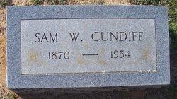 Sam W Cundiff